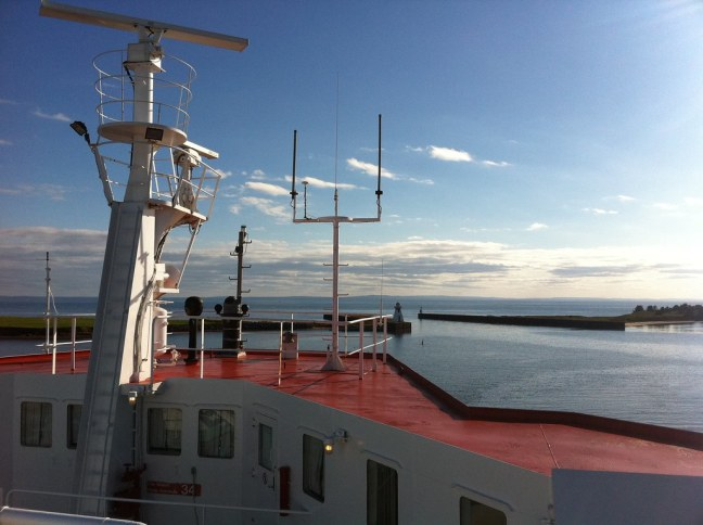 Ferry to Caribou, Nova Scotia