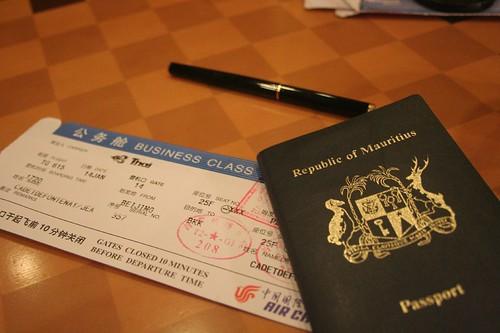 Passport - Ticket