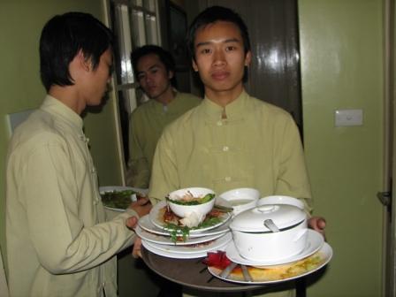 Wild Rice's staff