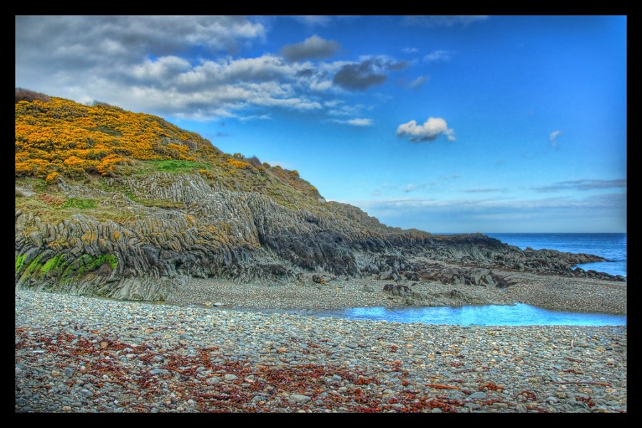 The Beach at Groudle Glen