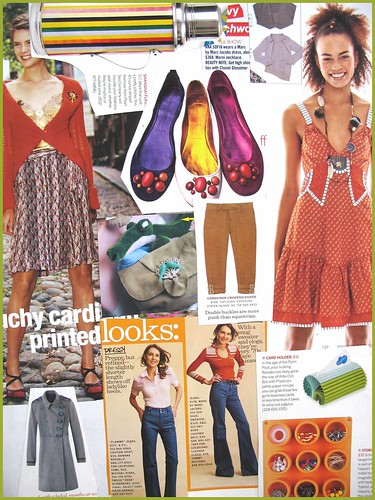 fashion scrapbook page 8
