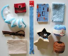 July Color-iffic Swap-o-rama 1: crafty goodies