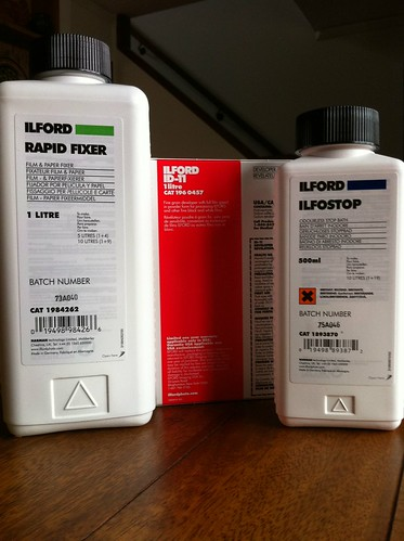 Ilford film processing chemicals