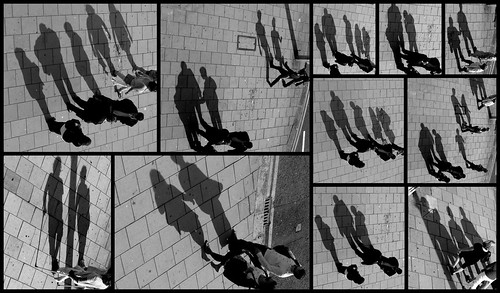 Shadow Play - Brighton late afternoon