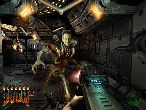 Blogger Doom 3