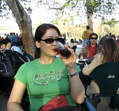 Sangria at the park