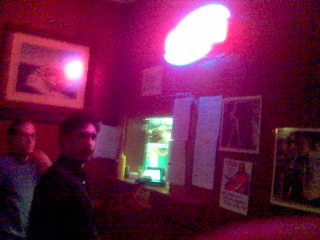 Damien at the Clubside Food Hole