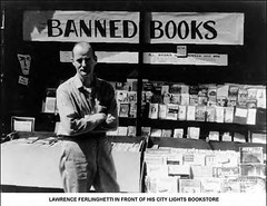 Ferlinghetti, City Lights Bookstore, SF