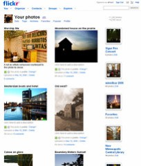 flickr photo page design refresh