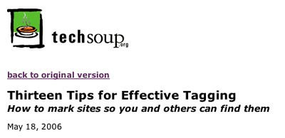 TagTechSoup