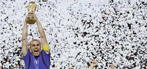 Fabio Cannavaro - lui si il miglior giocatore del mondiale