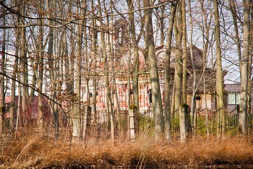 Cerkvės griuvėsiai