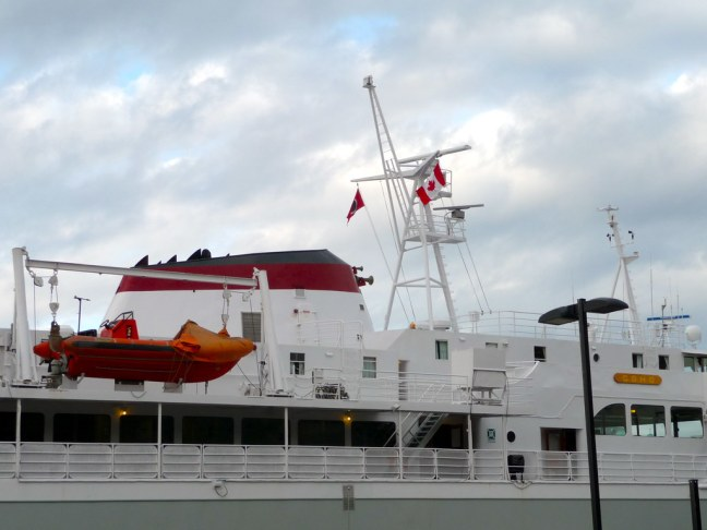 Ferry from Victoria, B.C. to Port Angeles, Washington