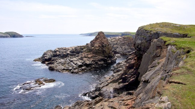 Cliffs in Elliston