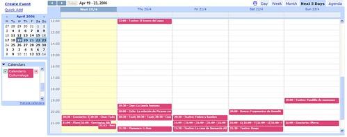 Calendario Cultumalaga