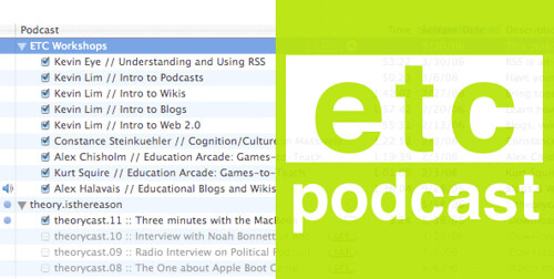 ETC now podcasting select how-to workshops!