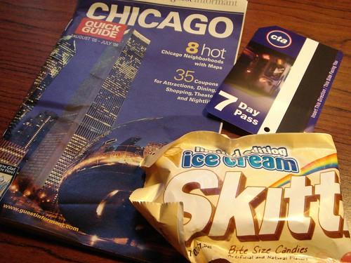 Chicago summer vacation
