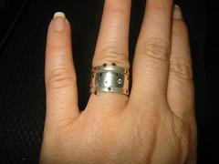 wedding rings - the whole enchilada