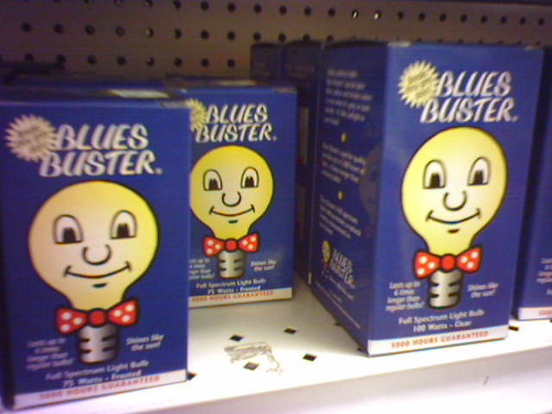 Anti-depression lightbulbs