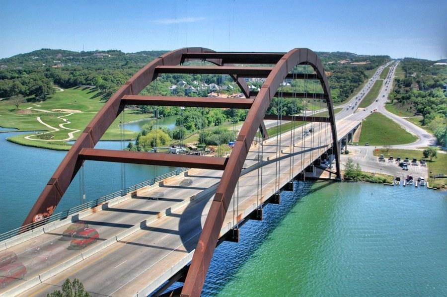 Town Lake and 360 Bridge