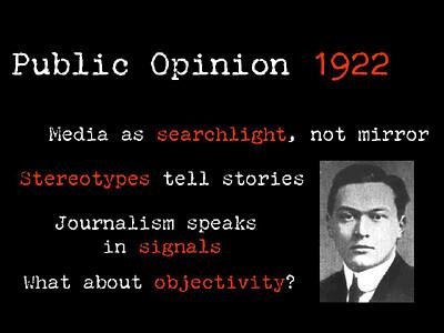 a slide from my presentation on objectivity
