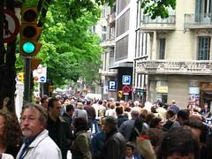 Crowds everywhere