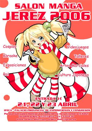Cartel Salón Manga de Jerez 2006
