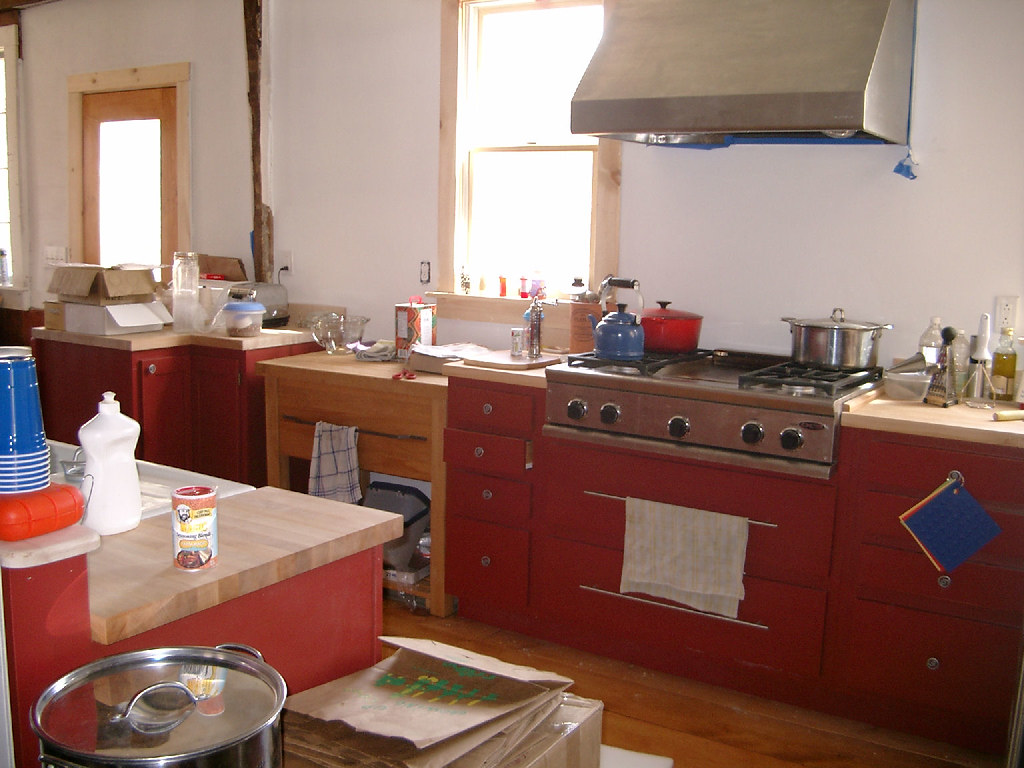 KitchenWithCountersAndJunk