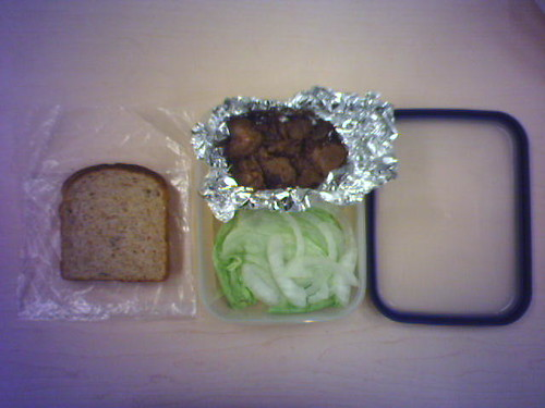 This is art, not lunch