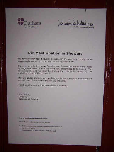 masturbation in showers