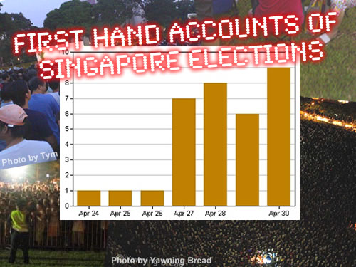 First Hand Accounts of Singapore Elections 2006