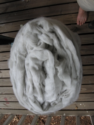 undyed fleece