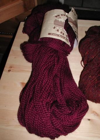 Wool Pak in Burgandy