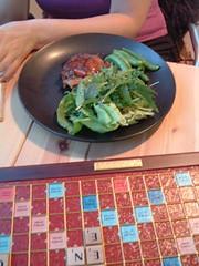 Scrabble dinner