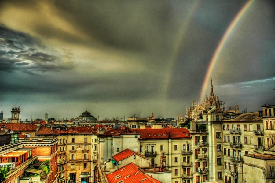 Rainbow over Duomo