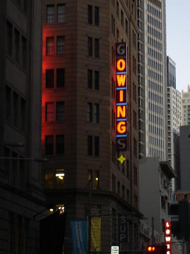 Ironic signage