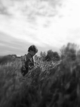 Colin in the Grass