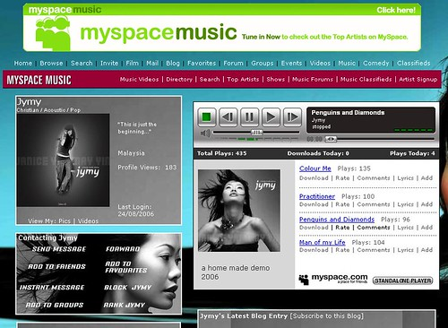 Jymy My Space