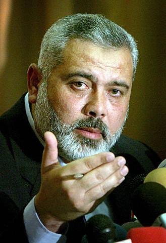 Ismail Haniyeh Gaza City 3 May 2006