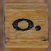 rubber stamp handle letter o