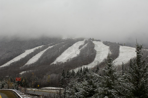 More Snow at Cannon Mountain! 10-27-11