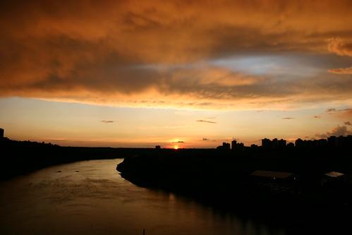 Edmonton from the High Level Bridge