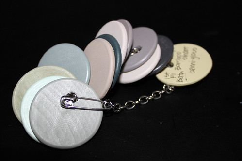 Paint Chip Key Chain, Keychain