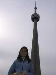 By the CN Tower