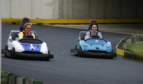 Speeding Around the Track!