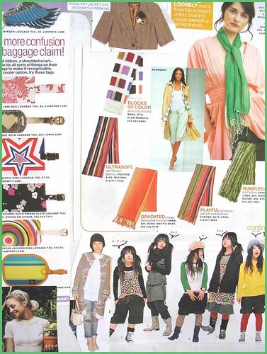 fashion scrapbook page 9
