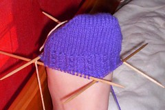 Toe-up Dimple Sock