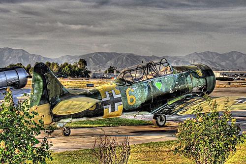 ww2 german fighter