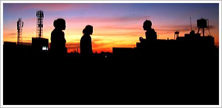 rooftop sunset mysore