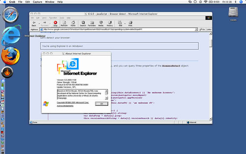 IE6 on the Mac